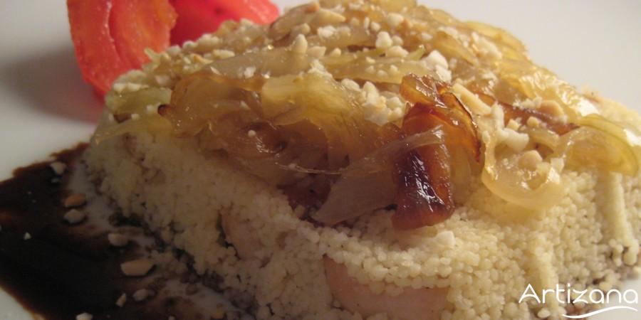 Deliciosa receta de cuscus con pollo