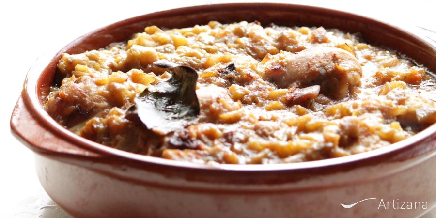 Guiso de pollo con berenjena receta