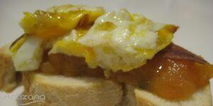 Receta de Montadito de huevos con anchoas
