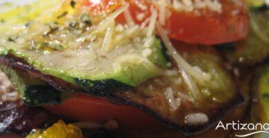 Deliciosa receta de montadito de verduras