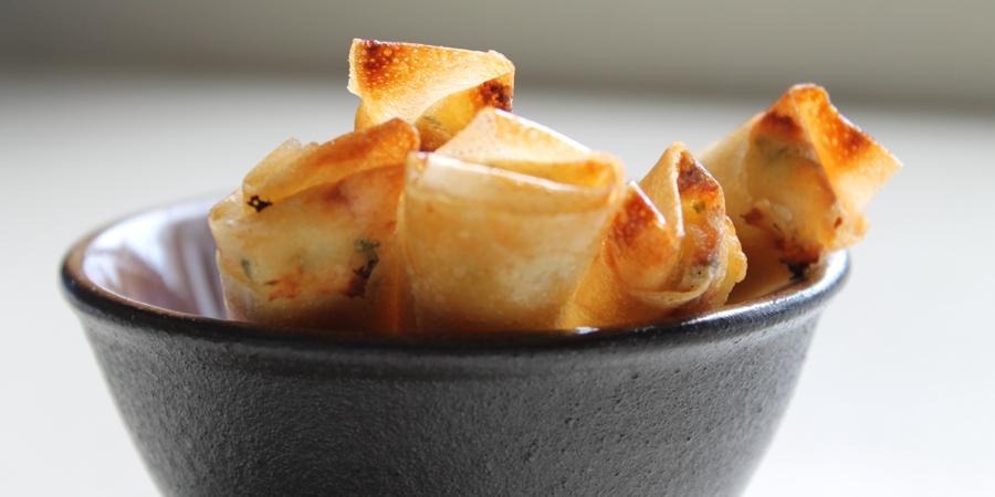 Receta de rollitos de queso turcos