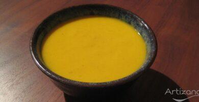 Deliciosa sopa de Verduras