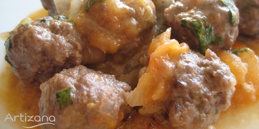 Riquisima receta de albóndigas marroquís