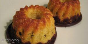 Receta de queques de naranja y chocolate