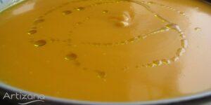 Receta de Crema de Calabaza con puerros y Quesitos