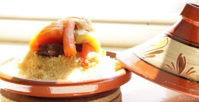Deliciosa receta de Cuscús con Siete verduras y Ternera
