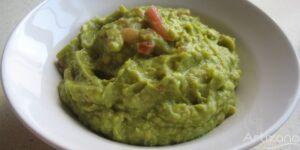 Rica salsa Guacamole natural