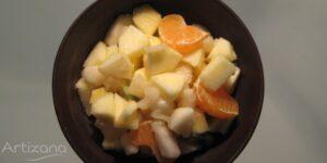 Macedonia de frutas, receta