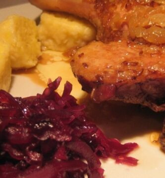 Receta de pato al estilo checo