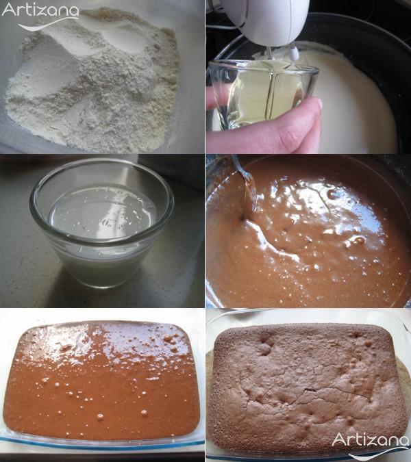 Paso a paso para preparar el brownie