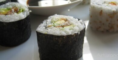 Deliciosa Receta de Sushi