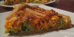 Receta de tarta vegetariana